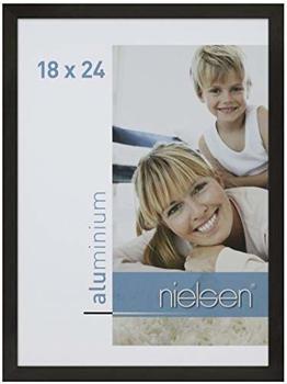Nielsen Alurahmen C2 18x24 schwarz matt