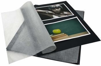 Goldbuch DIN A4 Fotokarton schwarz 20 Blatt