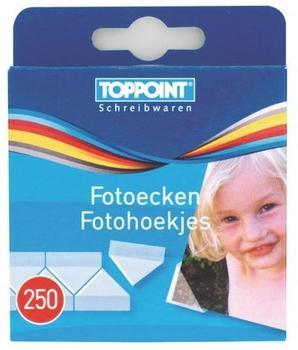 TOPPOINT Fotoecken selbstklebend 4x 250Stk