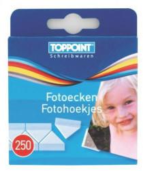 TOPPOINT Fotoecken selbstklebend 2x 250Stk