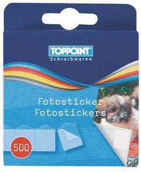 TOPPOINT Fotosticker/Fotokleber 2x 500 Stück