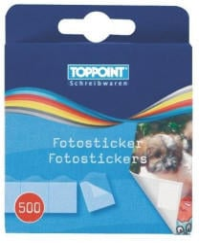 TOPPOINT Fotosticker/Fotokleber 5x 500Stk