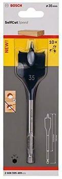 Bosch Flachfräsbohrer Self Cut 35 x 152 mm (2 608 595 499)