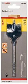 Bosch Flachfräsbohrer Self Cut 40 x 152 mm (2 608 595 502)
