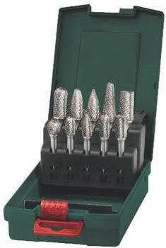 Metabo HM-Fräser-Set, Schaft 6 mm, 10-tlg. (6.28404.00)