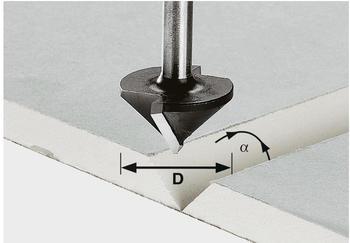 Festool Gipskartonfräser HW S8 D12,5/45° - 491000