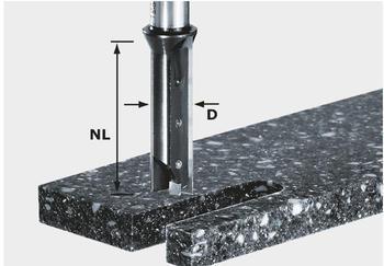 Festool Nutfräser-Wendeplatten HW S12 D14/45 WM - 491110