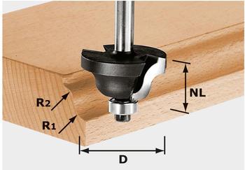 Festool Doppelradienfräser HW S8 D38,1/R6,35/R6,35 - 491030