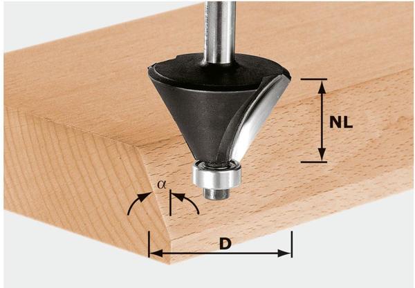 Festool Fasefräser HW S12 D44/30/30° - 491101
