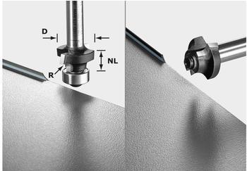 Festool Abrundfräser S8 HW R3 D22-KL OFK - 499797