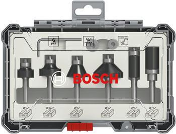 Bosch Rand- und Kantenfräser-Set 6-teilig (2607017470)