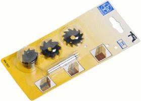 LUX Tools 104023 Nutenfräsersatz BASIC