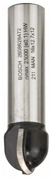Bosch Hohlkehlfräser 12 / R 8 / D 16 / L 12,7 mm (2608628472)
