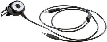 Callstel Micro-Freisprecher und iPhone-Fernbedienung fürs Auto