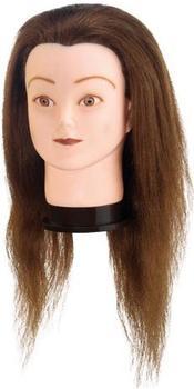 Comair Übungskopf India Indisches Haar Braun (40 cm)