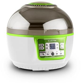 Klarstein VitAir Turbo Heißluftfritteuse grün/weiß