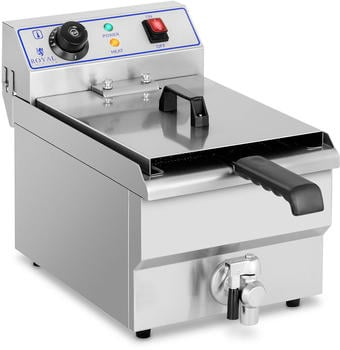 Royal Catering Elektro-Fritteuse - 1 x 10 Liter