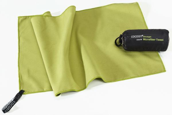 Cocoon Mikrofaser Reisehandtuch Ultralight Medium wasabi green (50x90cm)