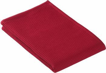 Vossen Piqué Rom Saunatuch rubin (80x220cm)