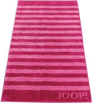Joop! Classic Stripes Saunatuch cassis (80x200cm)