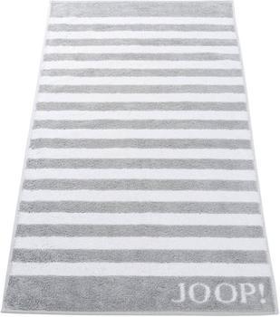 Joop! Classic Stripes Saunatuch silber (80x200cm)