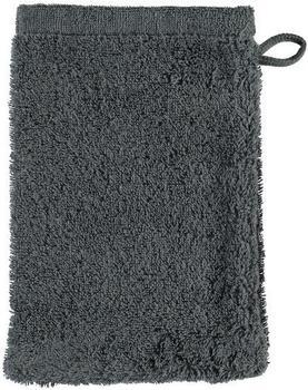 Cawö Life Style Uni 7007 Waschlappen anthrazit (16x22cm)