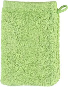 Cawö Life Style Uni 7007 Waschlappen pistazie (16x22cm)