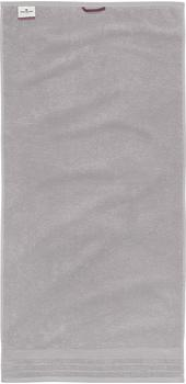 Tom Tailor Basic 100111 Duschtuch silber (70x140cm)