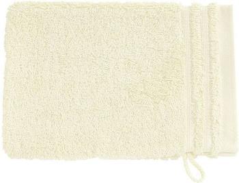 Vossen Calypso Feeling Waschhandschuh ivory (16x22cm)