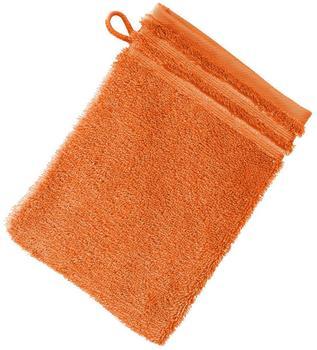 Vossen Calypso Feeling Waschhandschuh orange (16x22cm)