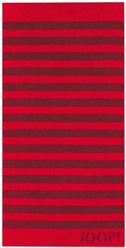 Joop! Classic Stripes 50x100cm rubin