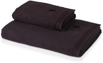 Möve Superwuschel Handtuch dark grey (50x100cm)