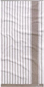 Tom Tailor Navy Stripes 70x140cm weiß/stein