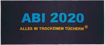 Egeria ABI 2020 Alles in trockenen Tüchern 75x180cm grau