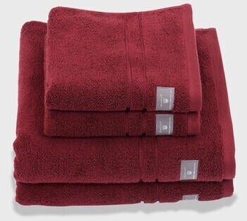 GANT Premium-Frottee-Handtuch (50x100) (852002004-604) carbernet red