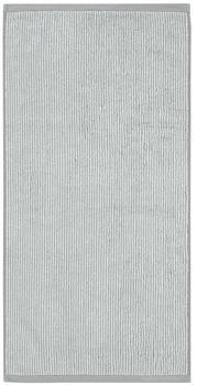 Marc O'Polo Timeless Tone Stripe 70x140cm grau/weiß