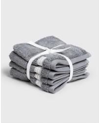 Gant GANT 4-pack Organic Cotton Premium Towel 30x30 (852007201-161) elephant grey