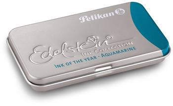 Pelikan Großraum-Tintenpatronen Edelstein Ink Collection Aquamarine (300100)
