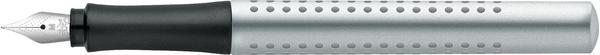 Faber-Castell Grip 2011 (silber) (medium) (140900)