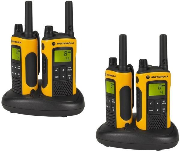 Motorola PMR-Handfunkgerät TLKR T82 Extreme RSM 188081 4er Set