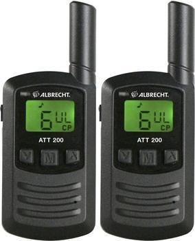 Albrecht AZ ATR 200 Mikro PMR 446 - 2er Set