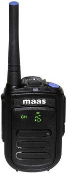 MAAS Elektronik PMR-Handfunkgerät MAAS PT-130-D 3833