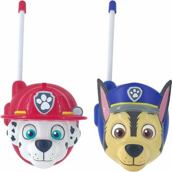 Joy Toy Paw Patrol Walkie Talkies Set Marshall und Chase in 3D-Form