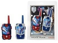 DICKIE Toys 212058505 Walkie Talkie, Blau/Silber/Rot/Schwarz
