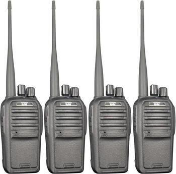 Team Electronic TeCom-SL PMR-Funkgerät Koffer 4er-Set