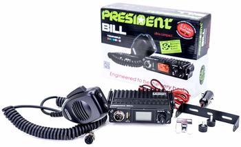 Président President Bill ASC CB Mobilfunkgerät, ASQ, 4W, 13,2V, TXPR001