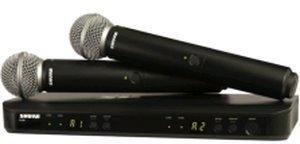 Shure BLX288/SM58 S8