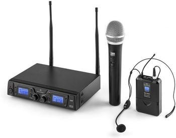 Malone UHF Funkmikrofon Set - Duett Pro V3