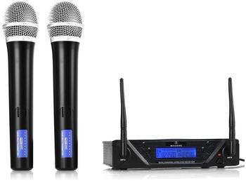 Malone 2 Kanal UHF Funkmikrofon Set - UHF 450 Duo1