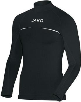 JAKO Comfort Turtleneck Shirt schwarz